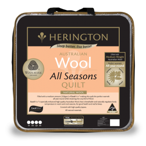 Wool All Seasons King Quilt by Herington