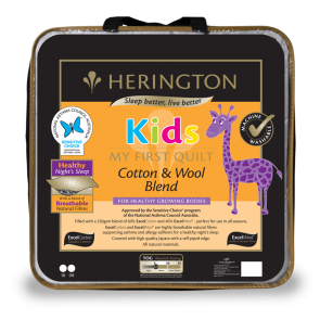 Kids Cotton & Wool Blend Quilt by Herington