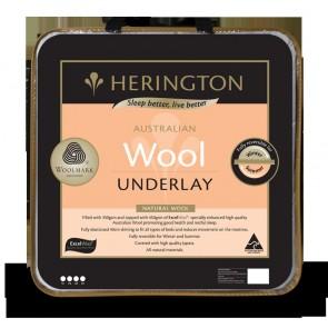 Natural Wool Single Underlay by Herington