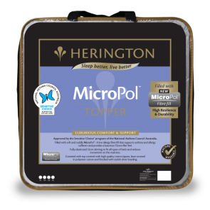 MicroPol Single Matterss Topper by Herington