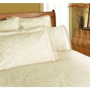 225 Thread Count Parcale Machine Lace Double Sheet Set by Shangri-La