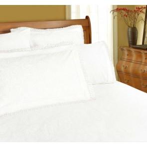 225 Thread Count Parcale Machine Lace Sheet Set by Shangri-La