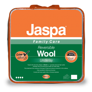 Wool Single Reversible Underlay by Jaspa