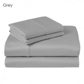 Renee Taylor 300 TC Grey Single Sheet Set