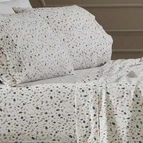 175 Gsm Egyptian Cotton Flannelette Printed Sheet Sets by Park Avenue