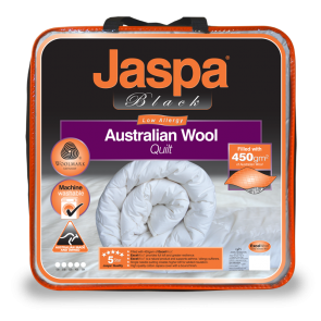 Wool Luxurious Machine Washable by Jaspa Black