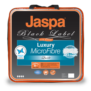 Luxury Microfibre Quilt by Jaspa Black