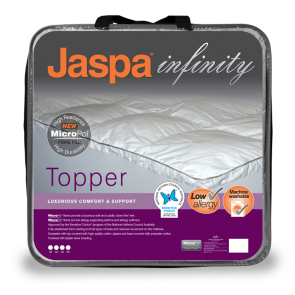 MicroPol Mattress Topper Single by Jaspa Infinity