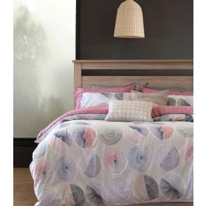 250TC Cotton Positano Multi Reversible Quilt Cover Set by Ardor