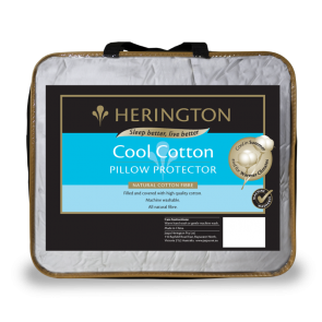 Cool Cotton Pillow Protector by Herington