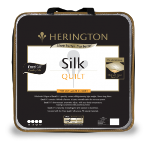 Silk Ultimate Queen Luxury Quilt by Herington