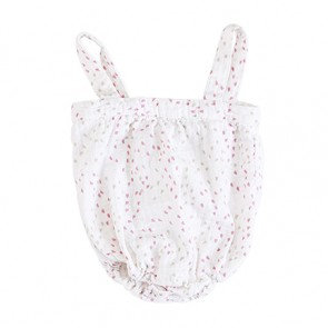 Lovely Mini Hearts Romper by Aden and Anais