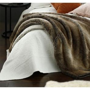 Allegra Ivory King Bedspread Set by MM Linen