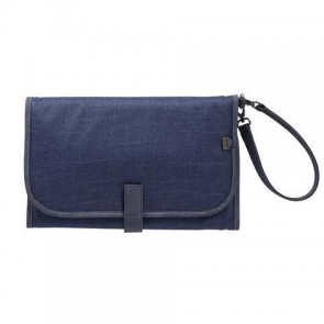 Change Denim Blue Clutch by Oi Oi