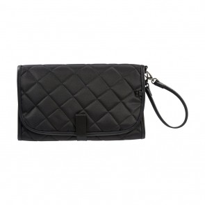 Black Quilt Change Clutch by OiOi