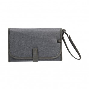 Denim Grey Change Clutch by OiOi