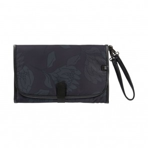 Change Protea Black/Charcoal Clutch by Oi Oi