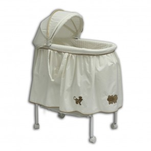 4 Animal Cream Bassinet by Babyhood