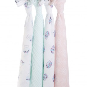Thistle 4-pack Classic Swaddles by aden + anais