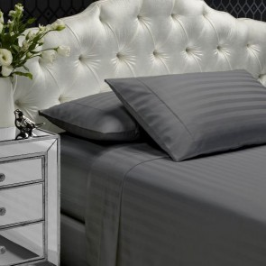 1000 Thread Count Egyptian Cotton 2 Cm Stripes Sheet Set By Style & Co