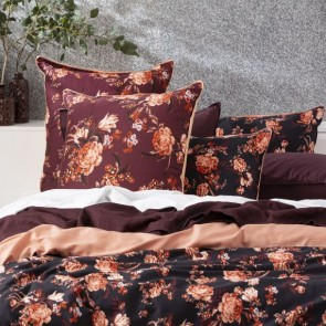 300 TC Blooming Cotton Printed Quilt Cover Set by Renee Taylor