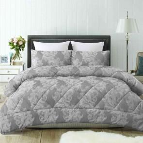 Stanton Silver Jacquard Comforter