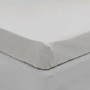 300TC Cotton Fitted Sheet by Algodon