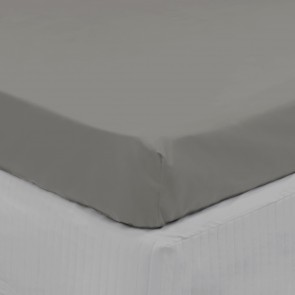 300TC Long Single Cotton Fitted Sheet by Algodon