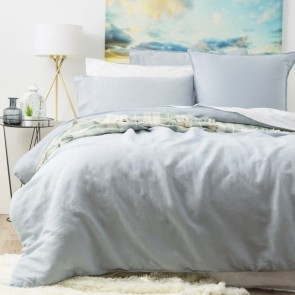 Cavallo Stone Washed 100% Linen Queen Quilt Cover Set by Renee Taylor