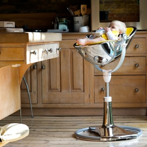 Mercury Fresco Chrome High Chair by Bloom - Special Edition