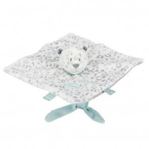 Loulou, Lea & Hippolyte - Doudou Comforter Lea The Snow Leopard by Nattou
