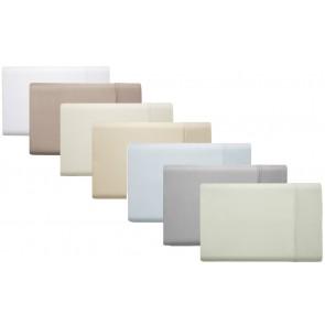 Comercial Grade 375TC Cotton Sateen Single Sheet Set by Phase 2