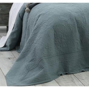 Allegra Bedspread Set Bluestone by MM linen