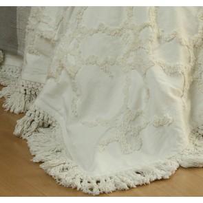 Clover Bedspread Set Ivory by MM Linen