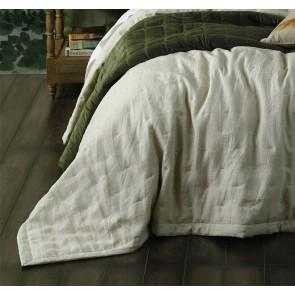 Laundered Linen Natural Bedspread Set by MM Linen