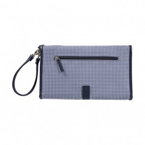 Gingham Change Clutch by OiOi