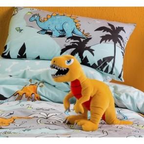 T Rex Plush Toy Cushion by Kas Kids cs