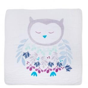 Thistle - Owlish Classic Dream Blanket by Adan + Anais