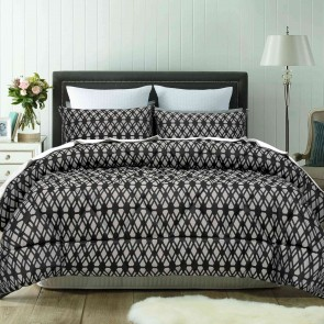 Living Jacquard Comforter 3 Piece 300TC Set by Accessorize
