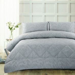Pippa Light Blue 3 Piece Comforter Set by Accessorize