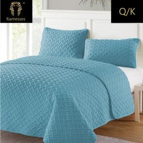 3 Piece Grand Hotel Embossed Comforter Set by Kingtex