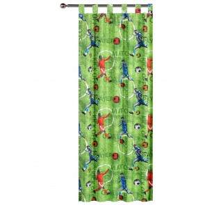 Footy Curtain by Happy Kids