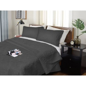 3 Piece Ultrasonic Comforter Set by Kingtex