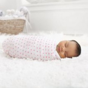 Fluro Pink 2-pk Swaddle by Aden and Anais