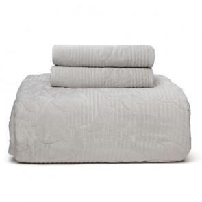 Florentina Silver Grey Bedspread Set by MM Linen