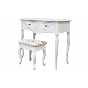 4 Stool And 2 Drawers With Dressing Table by Living Good