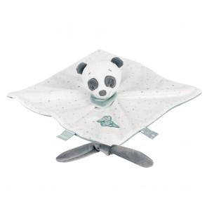 Loulou, Lea & Hippolyte - Doudou Comforter Loulou The Panda by Nattou