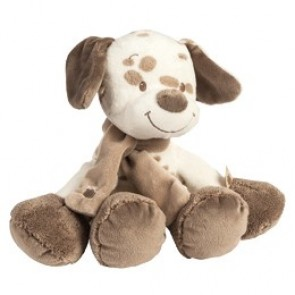 Max, Noa & Tom Collection - Cuddly Max The Dog by Nattou