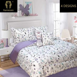 5 Piece Kids All Season Comforter Set by Ramesses