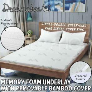 5 Zone Memory Foam